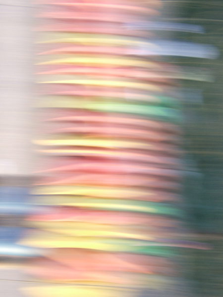 abstract photo in bright colors by lynn bridge
