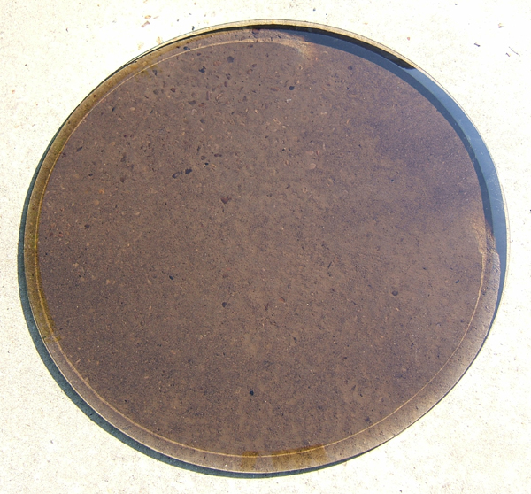 bronze safety glass table top