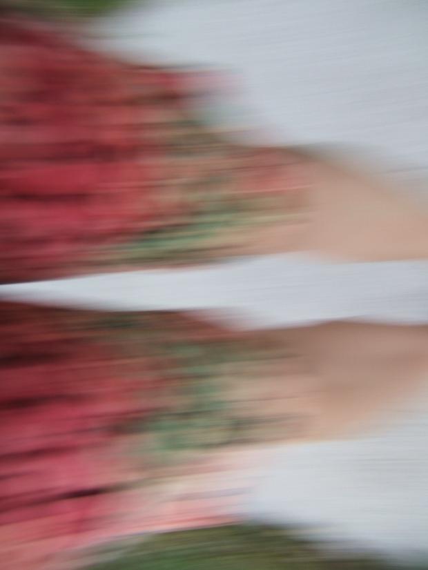 """blur"" photo of legs"