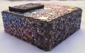 tiny mosaic by Lynn Bridge