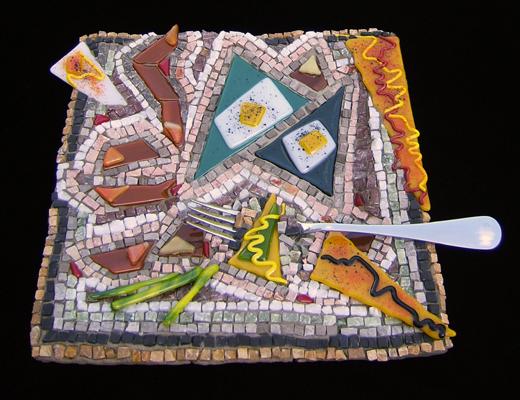 The Paleo Diet mosaic by Lynn Bridge