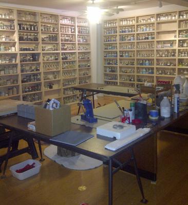 Glencliff Studio- mosaic room